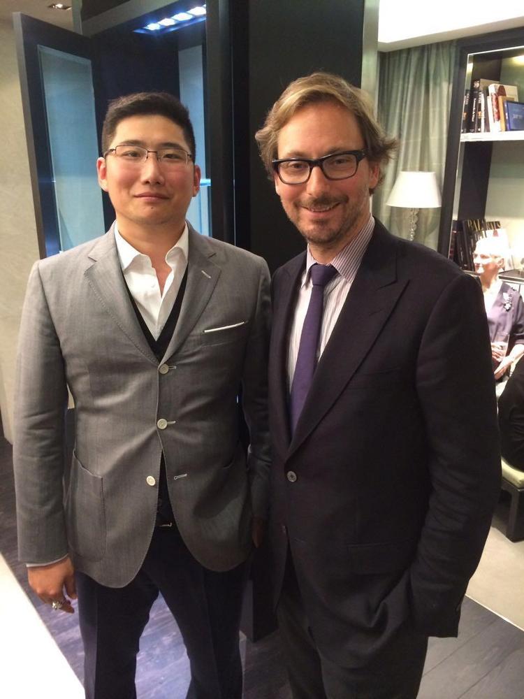 赵伟与梵克雅宝 CEO:Nicola Bos