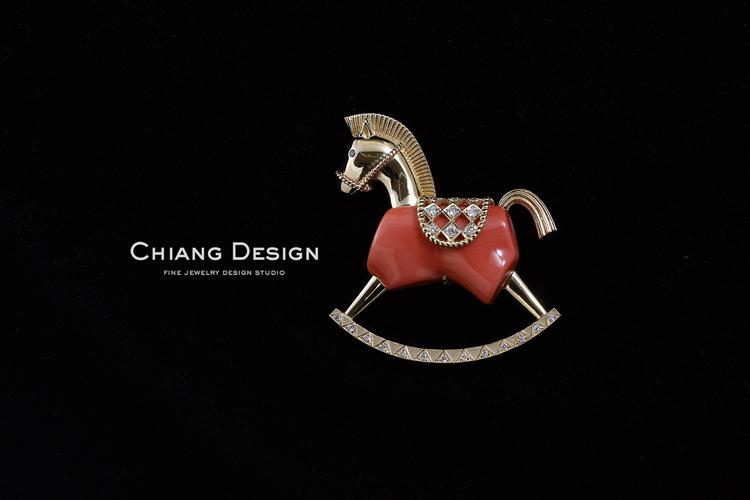 蒋滢珠宝设计作品《木马》
