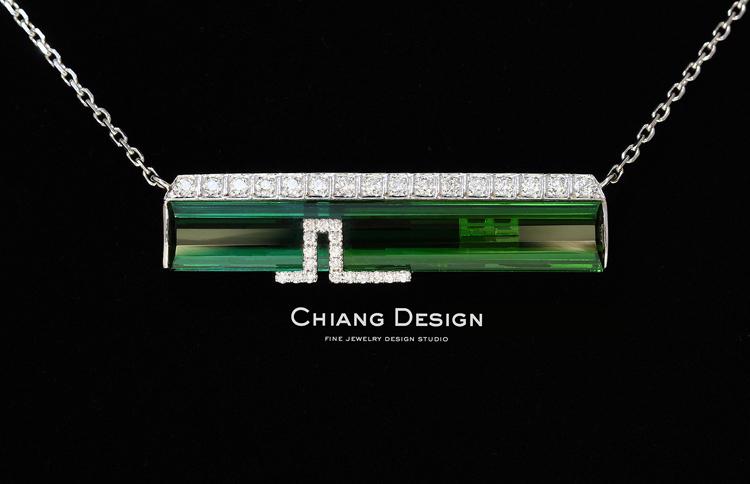 蒋滢珠宝设计作品《屋檐》