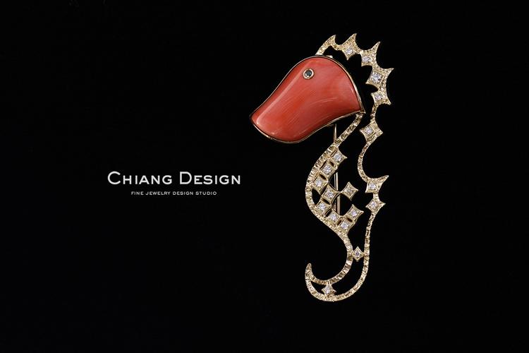 蒋滢珠宝设计作品《海马》