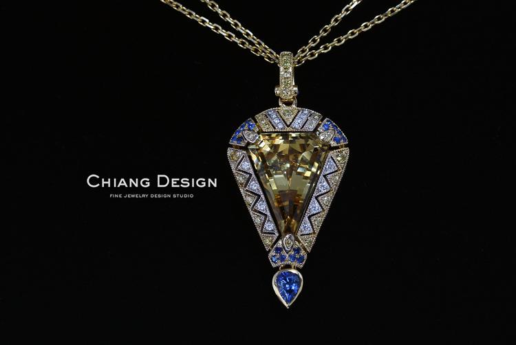 蒋滢珠宝设计作品《窗》