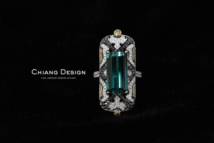 蒋滢珠宝设计作品《macao印记》