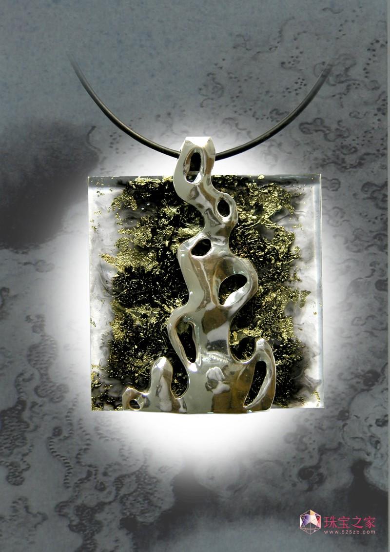 郑静作品,太湖石系列1