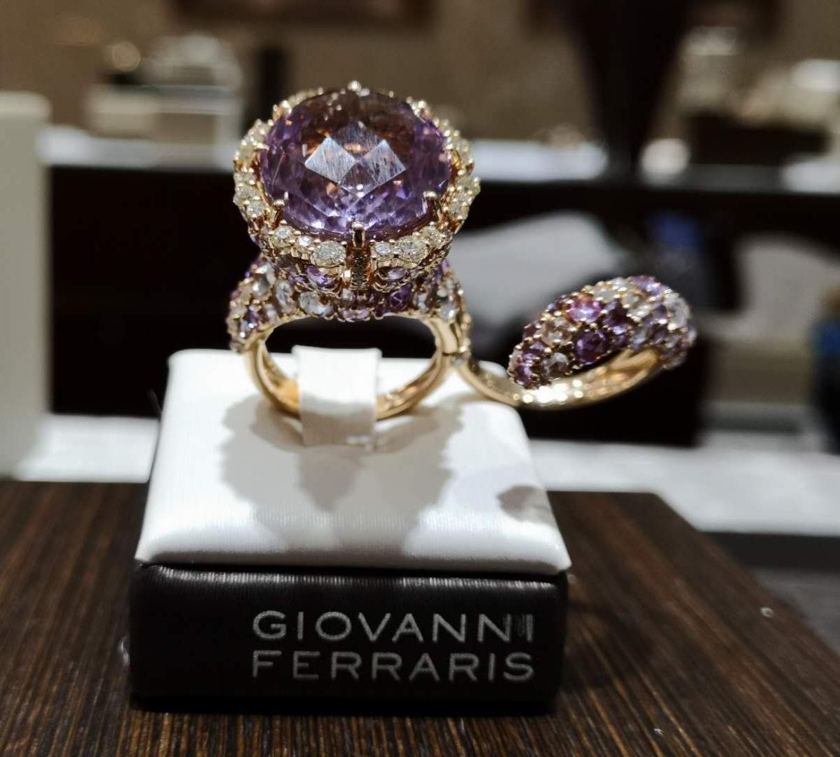 我和 Giovanni Ferraris 在中国珠宝市场奋战的9年