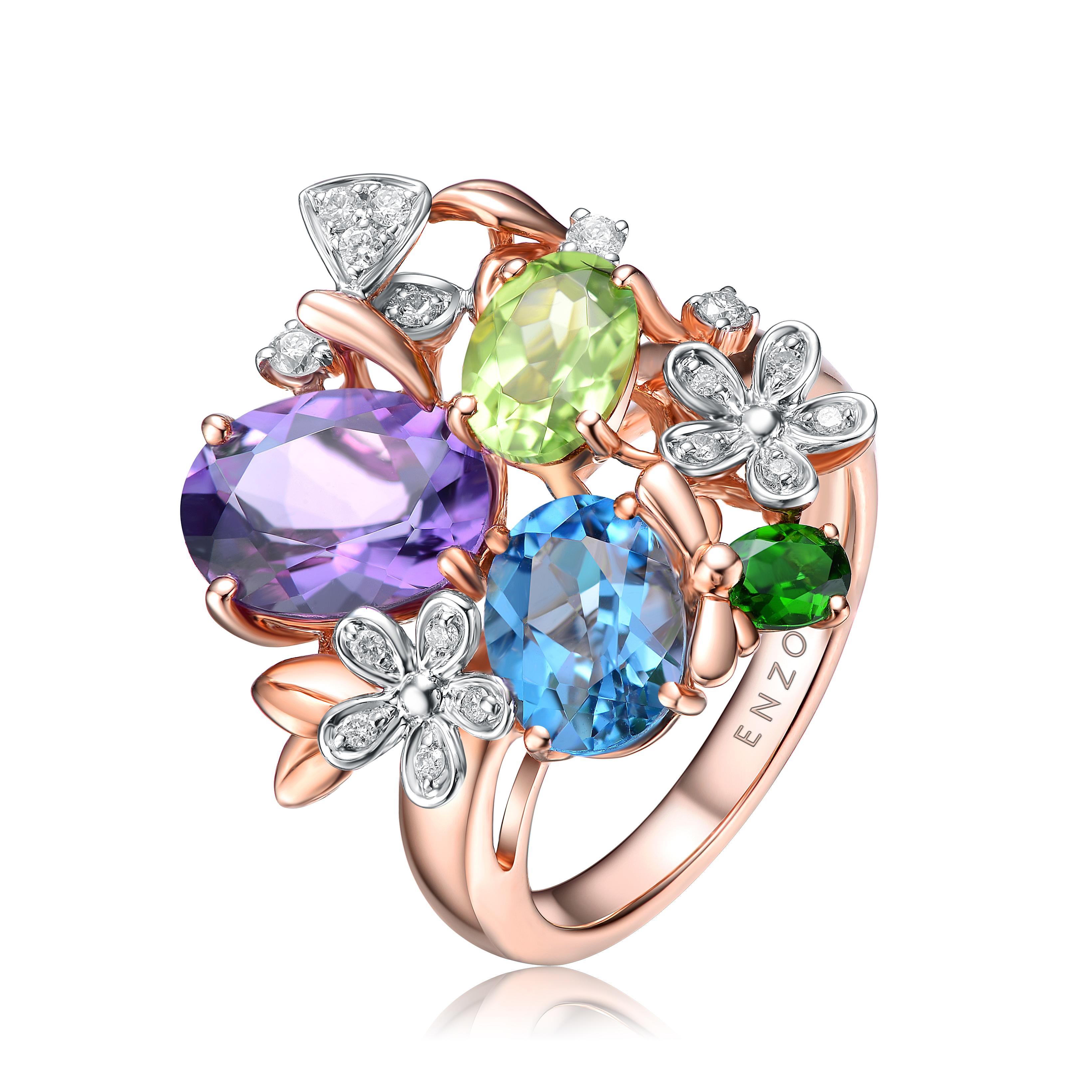 ENZO全新形象亮相深圳珠宝展,首次开放全国加盟业务