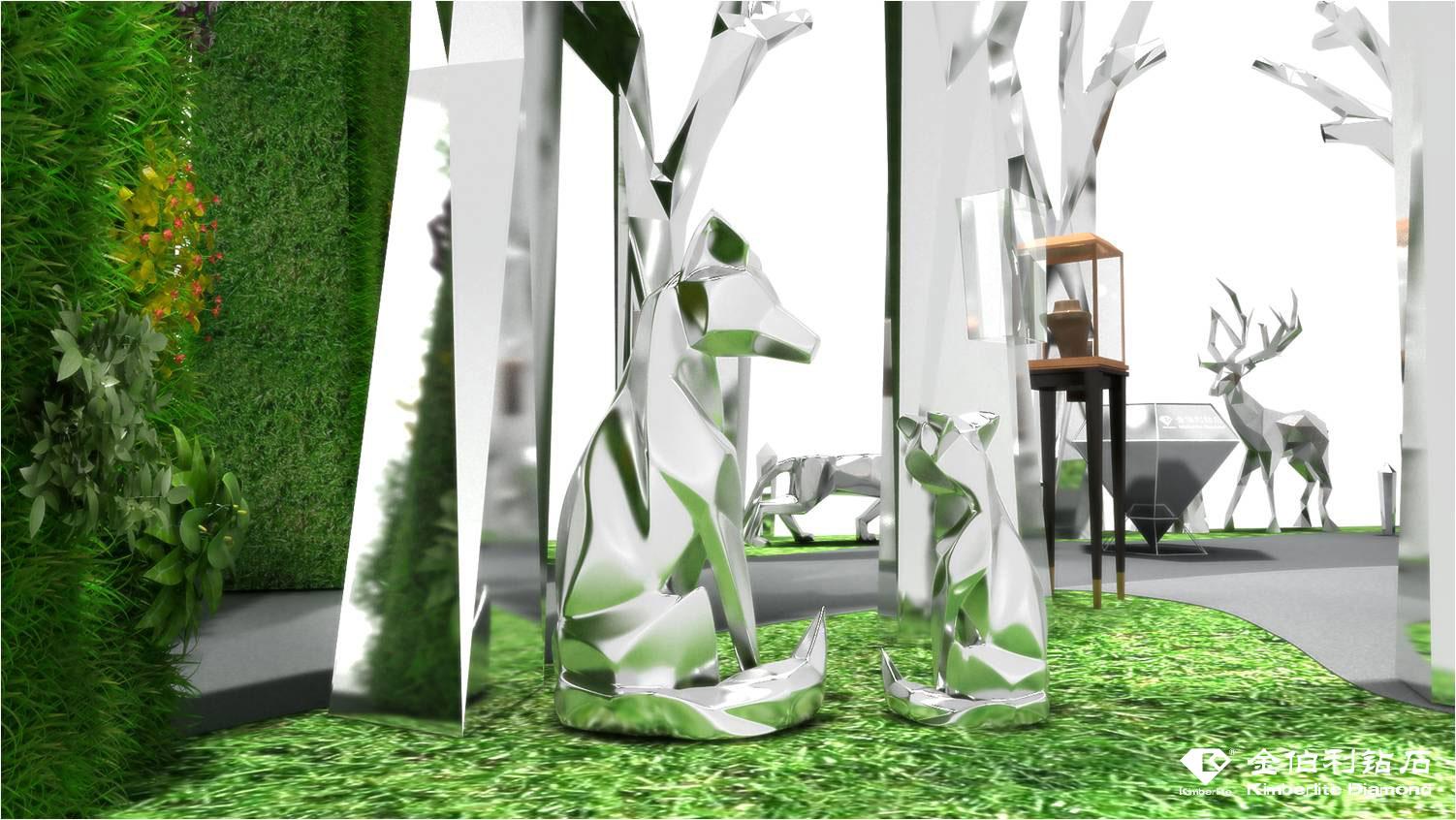 幻镜森林亮相上海展 金伯利钻石邀你开启治愈心灵之旅